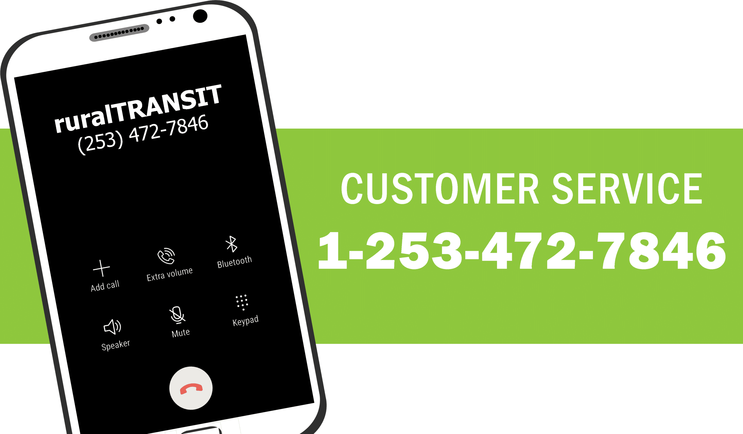 thumbnail image showing cell phone and customer service number 1-253-472-7846